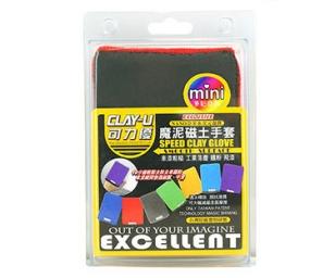 新品上市CLAY-U 可力優 奈米美容 MINI磁土手套 磨泥手套 美容手套