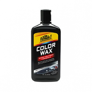 FORMULA 1 COLOR WAX -for all black paint finishes